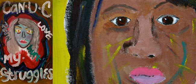 Art of Yoga Project, Self Portraits